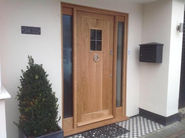 wood timber custom door