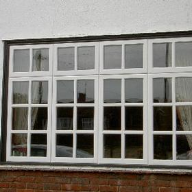 New Georgian windows refurbished by Brentwood Joinery