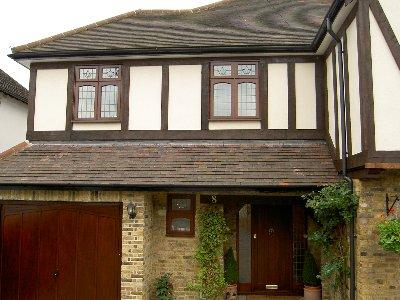 A home refitted with custom windows and doors from Brentwood Joinery, Essex